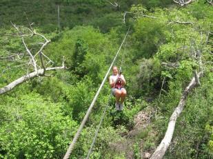 Extreme Ziplining in St. Maarten